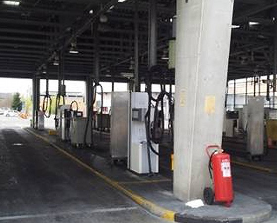 CNG Filling Stations for vehicles – EMT Madrid