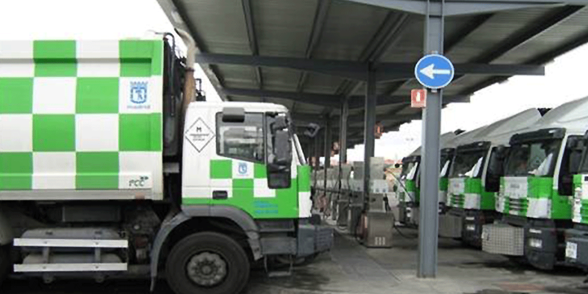 GNC Loading Station for vehicles – FCC, S.A.