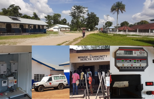 NIP, S.A. ON SIERRA LEONA: ELECTRIFICATION DESING OF 44 HEALTH CENTERS